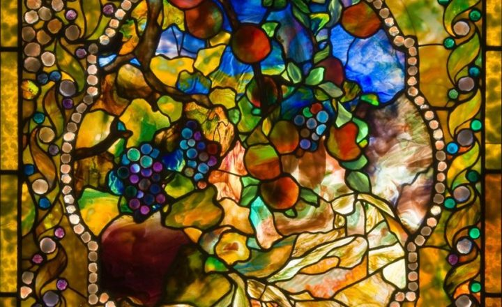 Tiffany glass at Morse Museum