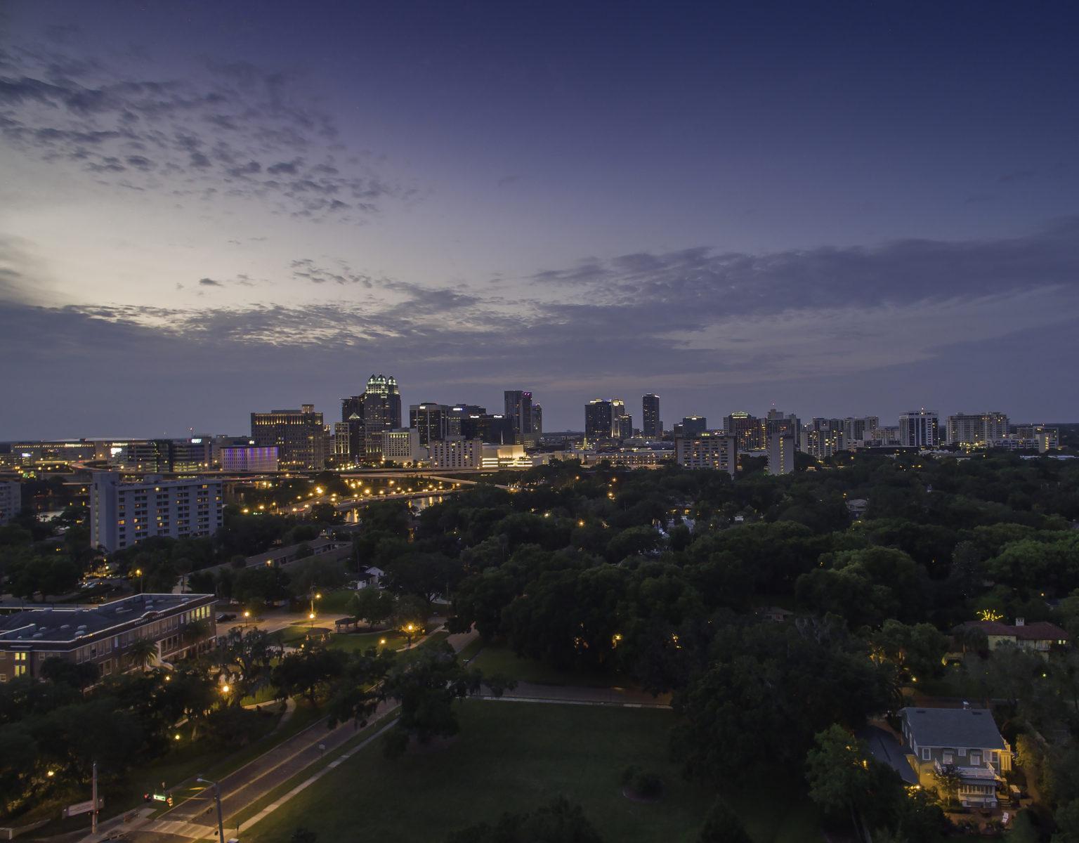 Skyline from Delaney Park